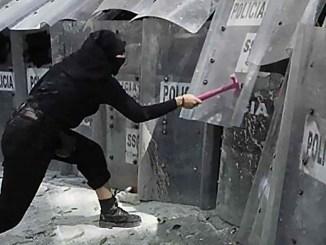 Claudia Sheinbaum advierte que manifestaciones en la CDMX se han vuelto menos violentas