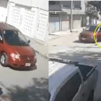 Así intentaron subir a una camioneta a jovencita en Los Reyes La Paz #VIDEO