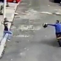 Vecinos unidos logran evitar el secuestro de un bebé de dos años #VIDEO