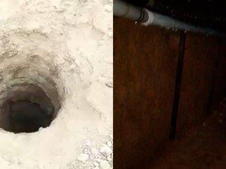 Hallan túnel de huachicol de 170 metros en Nuevo León