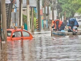 López Obrador deslinda a la CFE de provocar inundación en comunidades de Tabasco