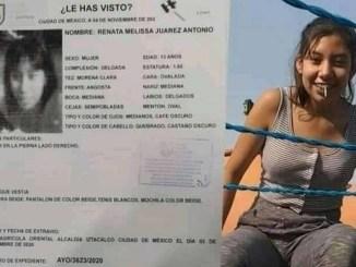 Renata tiene 13 años y vestía pijama cuando desapareció #AlertaAmber
