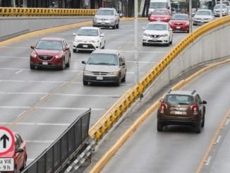 Habilitan carril reversible sobre Circuito Interior, temen accidentes #VIDEO
