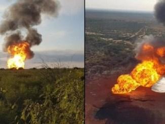 Controlada la fuga en un gasoducto de Pemex en China, Nuevo León
