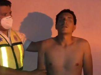"""""""Estoy agarrando señal"""" dice joven drogado, que se viralizó #VIDEO"""