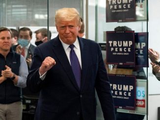 Trump reclama ventaja de Biden en Pensilvania, Wisconsin y Michigan