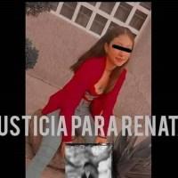 Al grito de #JusticiaParaRenata familiares y amigos piden se detenga a su violador y asesino