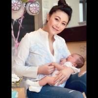 Socialité china se lanza de una torre con su bebé de 5 meses en brazos