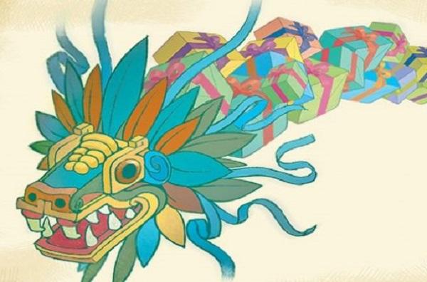 El día que Quetzalcóatl fue quien trajo regalos a los niños en Navidad