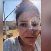 Así engañaron y atacaron con harina a Nayeli Salvatori #VIDEO