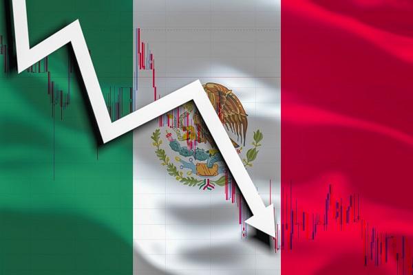 Inegi registra que el PIB de México en 2020 cayo -8.5%