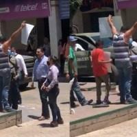 """Presentan denuncia penal contra Silvano Aureoles por """"empujón"""" a maestro"""