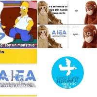 Lluvia de memes y críticas contra el logo del Aeropuerto de Santa Lucía