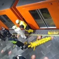 Muere hombre tras caer a las vías en la Línea 8 del Metro
