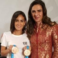 Paola Espinosa asegura que Ana Guevara le garantizó pase a JO