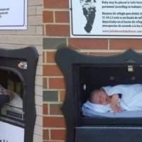 Abandonan bebé en buzón de Bélgica, llevaba dos años vacío