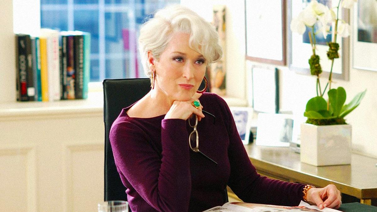 Horrible grabar 'El diablo viste a la moda': Meryl Streep