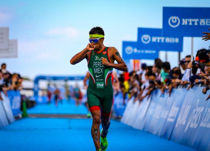Finaliza triatlón varonil en Tokio 2020 sin medallas para México