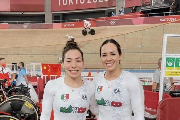 Ciclistas mexicanas se quedan fuera de la final; acaban en sexto lugar