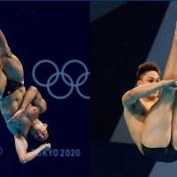Rommel Pacheco y Osmar Olvera clasifican a semifinales en trampolín de tres metros