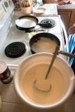 Crepe making