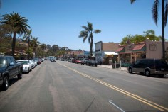 Main drag in Old Town