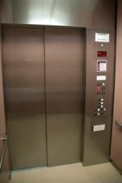 Muzakless elevator ride