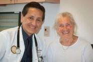 Dr. Romero and my mom