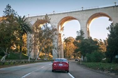 Cabrillo Bridge over Hwy 163