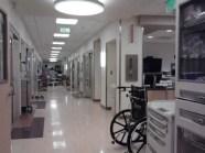 Hallway inside the ER