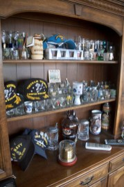Collected glassware