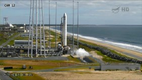 Minutes before launch