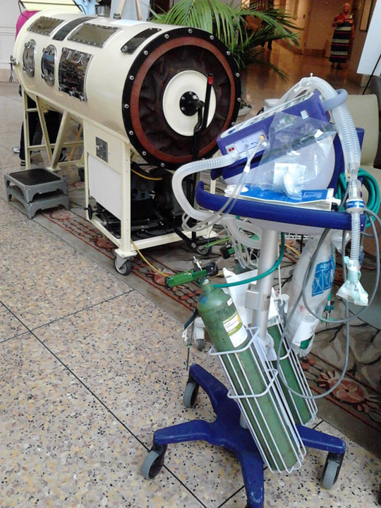 Iron lung vs. today's respirator