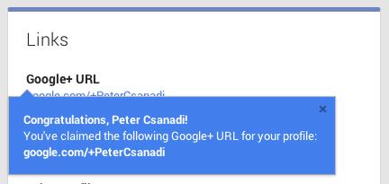 Google Plus URL 10-30-13