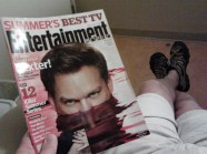 Reading about Dexter's final season