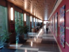 Down the long hall to Imaging