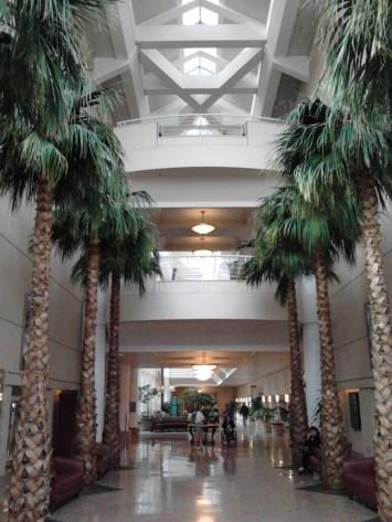 Thorton's impressive lobby