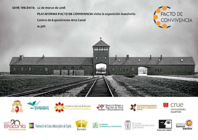 La Plataforma Pacto de Convivencia - Auschwitz - Madrid