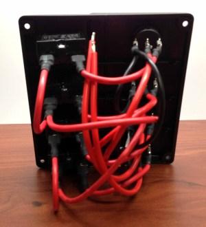 Marine Boat IP65 Switch Panel 4 Gang No Fuse Circuit