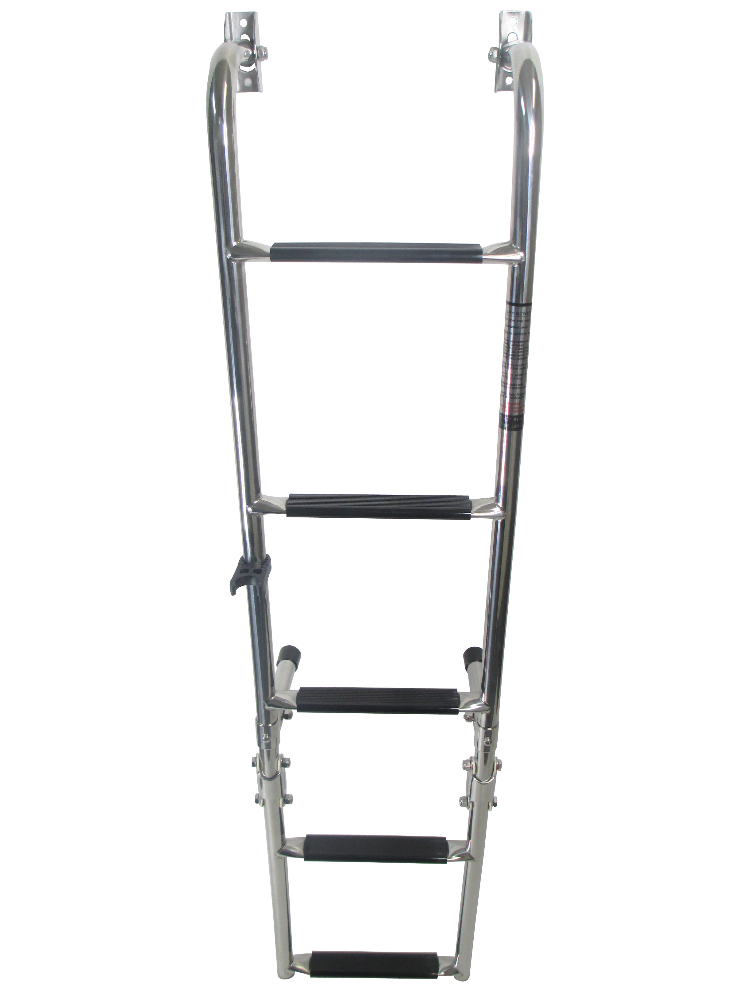 Marine Boat Foldable Stainless Steel 5 Steps Ladders W