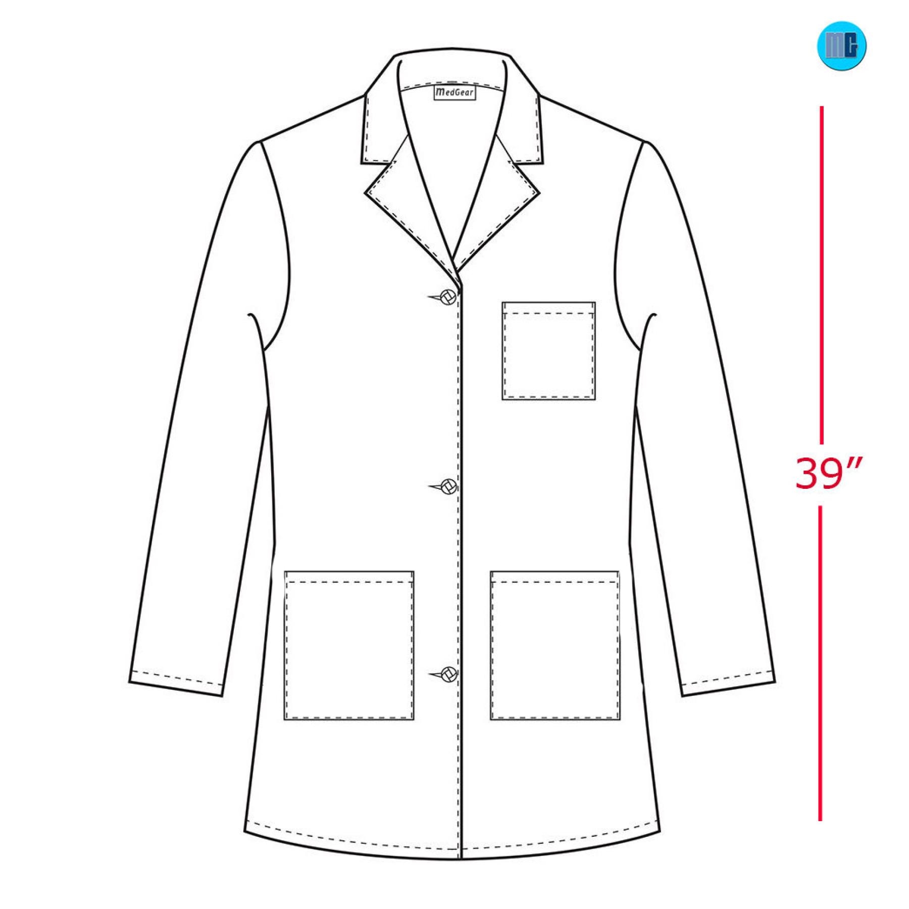 Medgear White Lab Coat For Women 39