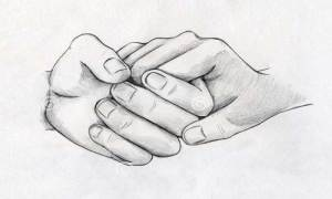 Drawing Hand With Uni
