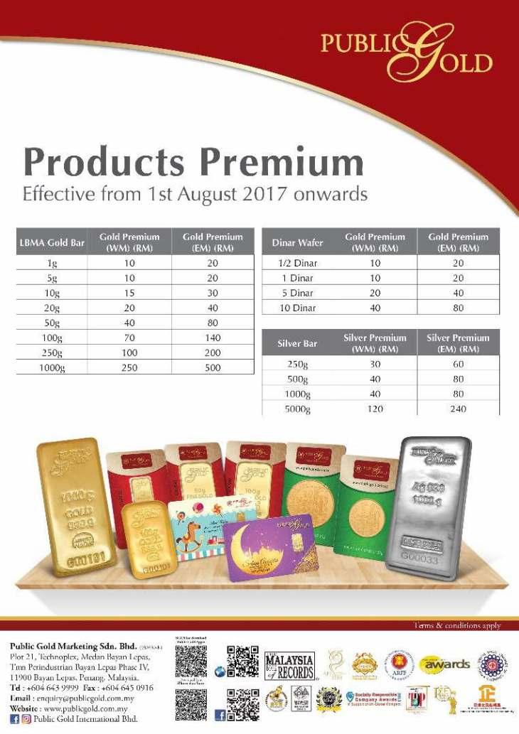 premium aug 2017