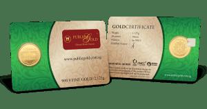 public gold 0.5 dinar