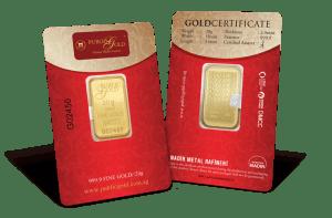 public gold 20 gram classic