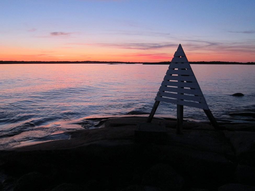 Solnedgång på västsidan