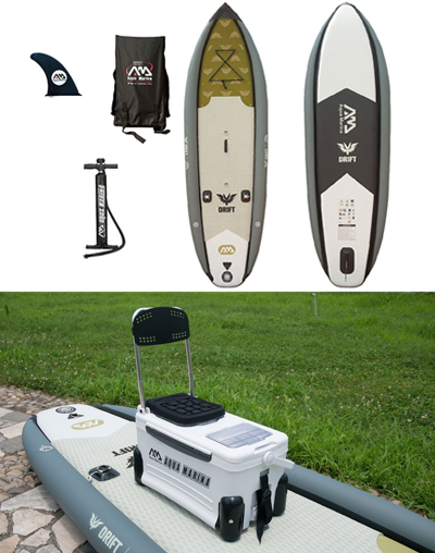 Aqua Marina Drift Fishing Inflatable Stand-up Paddle Board