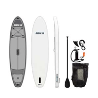 """Jimmy Styks 10'6"""" Puffer Inflatable Stand Up Paddleboard"""