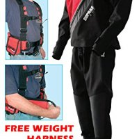 Sopras Sub Trilaminate Drysuit Size LG with Booties Size 10 Technical Dry Suit DUI Cold Water Scuba FREE WEIGHT HARNESS