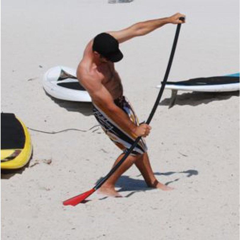 rigidité pagaie paddle